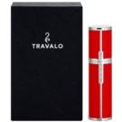 Travalo Milano  nachfüllbarer Flakon mit Zerstäuber unisex 5 ml  Red