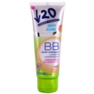 Under Twenty ANTI! ACNE creme matificante BB com efeito antibacteriano SPF 10  tom 01 Light Beige 75 ml