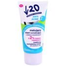Under Twenty ANTI! ACNE Antibacterial Mattifying Moisturiser (Mandelic Acid + Niacin + Mattifying Micro-Particles) 50 ml