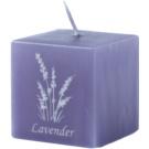 Unipar Lavender Violet ароматна свещ  110 гр.  (Square 50 - 50 - 50)