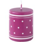 Unipar Retro Pink świeczka 100 g  (Pillar 50 - 60)