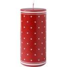 Unipar Retro Red Kerze 475 g  (Ø 70 - 150)