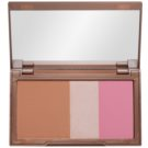 Urban Decay Naked Flushed paleta pentru contur facial culoare Native (Bronzer, Highlighter, Blush) 14 g