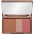 Urban Decay Naked Flushed paleta pentru contur facial culoare Naked (Bronzer, Highlighter, Blush) 14 g