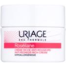 Uriage Roséliane Restoring Day Cream For Sensitive Skin Prone To Redness (Anti - Redness Rich Cream) 50 ml