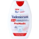 Vademecum 2 in1 Pro Medic zubní pasta + ústní voda v jednom  75 ml