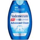 Vademecum Advanced Clean Pro Micellar Technology зубна паста та рідина для полоскання ротової порожнини для повноцінного захисту зубів  75 мл