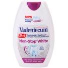 Vademecum 2 in1 Non-Stop White fogkrém + szájvíz egyben  75 ml