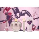 Vera Wang Princess coffret III. Eau de Toilette 100 ml + Eau de Toilette 10 ml + leite corporal 75 ml + gloss 2 g