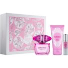 Versace Bright Crystal Absolu ajándékszett XIV.   Parfüm 90 ml + 10 ml + testápoló tej 100 ml