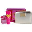 Versace Bright Crystal Absolu ajándékszett VIII. Eau de Parfum 90 ml + testápoló tej 100 ml + pénztárca