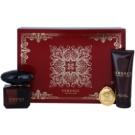 Versace Crystal Noir Gift Set X. Eau De Parfum 90 ml + Body Milk 100 ml + Keychain