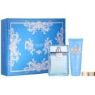 Versace Eau Fraiche Man darilni set XXV. toaletna voda 100 ml + gel za prhanje 100 ml + zaponka za denar