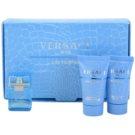 Versace Eau Fraiche Man dárková sada IX. toaletní voda 5 ml + sprchový gel 25 ml + balzám po holení 25 ml