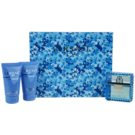 Versace Eau Fraiche Man set cadou XV. Apa de Toaleta 50 ml + Gel de dus 50 ml + Sampon 50 ml