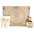 Versace Eros Pour Femme Gift Set Eau De Parfum 50 ml + Shower Gel 50 ml + Body Milk 50 ml