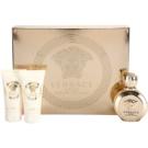 Versace Eros Pour Femme dárková sada I. parfemovaná voda 50 ml + sprchový gel 50 ml + tělové mléko 50 ml
