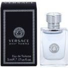 Versace pour Homme Eau de Toilette para homens 5 ml