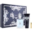 Versace pour Homme ajándékszett XVIII. Eau de Toilette 100 ml + testsampon 100 ml + pénzcsipesz