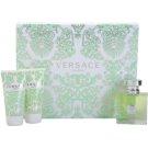 Versace Versense darilni set XV. toaletna voda 50 ml + losjon za telo 50 ml + gel za prhanje 50 ml
