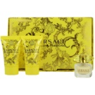 Versace Yellow Diamond darilni set V. toaletna voda 5 ml + losjon za telo 25 ml + gel za prhanje 25 ml