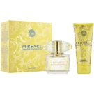 Versace Yellow Diamond darilni set IX. toaletna voda 90 ml + losjon za telo 100 ml