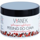 Vianek Reinforcement Smoothing Body Scrub with Firming Effect with crushed raspberry seeds  150 ml