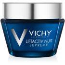 Vichy Liftactiv Supreme nočna krema za učvrstitev kože in proti gubam z učinkom liftinga  50 ml