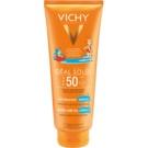 Vichy Idéal Soleil Capital leche protectora para niños para rostro y cuerpo SPF 50  300 ml