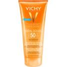 Vichy Idéal Soleil Ultratající tejes gél nedves vagy száraz bőrre SPF 50  200 ml