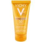 Vichy Idéal Soleil Bronze gel hidratante fluído facial para preparação natural da pele para bronzeamento SPF 50  50 ml