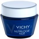 Vichy Nutrilogie Intensivcreme für die Nacht  für trockene bis sehr trockene Haut  50 ml