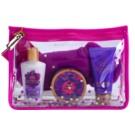 Victoria's Secret Love Spell zestaw upominkowy IV. mleczko do ciała 60 ml + balsam do ciała 50 ml + krem do rąk 60 ml + skarpety 1 ks + torebka kosmetyczna 1 ks
