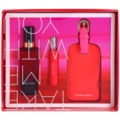 Victoria's Secret Very Sexy coffret I. spray corporal 75 ml + Eau de Parfum 7 ml + Etiqueta para bagagem