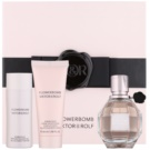 Viktor & Rolf Flowerbomb Gift Set III  Eau De Parfum 50 ml + Shower Gel 50 ml + Body Lotion 40 ml
