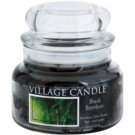 Village Candle Black Bamboo ароматизована свічка  269 гр мала
