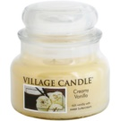 Village Candle Creamy Vanilla ароматна свещ  269 гр. малка