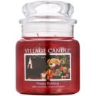 Village Candle Happy Holidays ароматна свещ  397 гр. среден