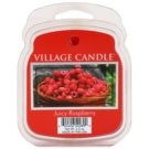 Village Candle Juicy Raspberry vosek za aroma lučko  62 g