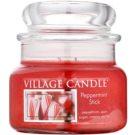Village Candle Peppermint Stick illatos gyertya  269 g kicsi