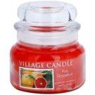 Village Candle Pink Grapefruit vonná svíčka 269 g malá