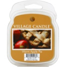 Village Candle Warm Apple Pie vosek za aroma lučko  62 g