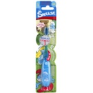 VitalCare The Smurfs Toothbrush for Kids with Flashing Timer Soft (Timer 60 seconds)