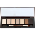 W7 Cosmetics Bronze Queen paleta de sombras  com espelho e aplicador  7 g
