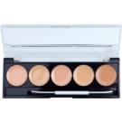 W7 Cosmetics Camouflage Kit Palette mit Korrekturstiften inkl. Spiegel und Pinsel  2 g