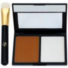 W7 Cosmetics Catwalk paleta para contornos faciales con espejo y aplicador  9 g