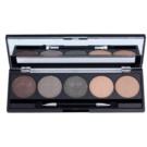W7 Cosmetics Eye Shadow Eye Shadow Palette With Mirror And Applicator (5 Piece Eye Shadow Box) 5 x 1,5 g