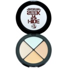W7 Cosmetics Hide 'N' Seek Concealer To Treat Skin Imperfections Color Green (Anti-Redness) 5 g