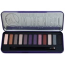 W7 Cosmetics In the Night paleta očních stínů s aplikátorem (12 Eye Shadows) 15,6 g