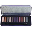 W7 Cosmetics In the Night paleta očních stínů s aplikátorem  15,6 g